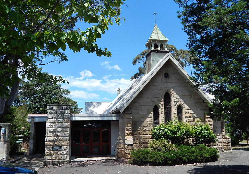 St Paul's Anglican Church, Wahroonga, Sydney, NSW.