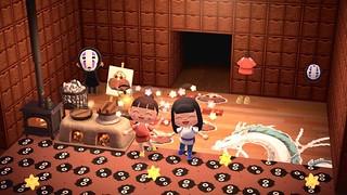 精選12款超萌的《集合吧!動物森友會》吉卜力系列角色服裝下載 龍貓、無臉男、灰塵精靈太可愛~