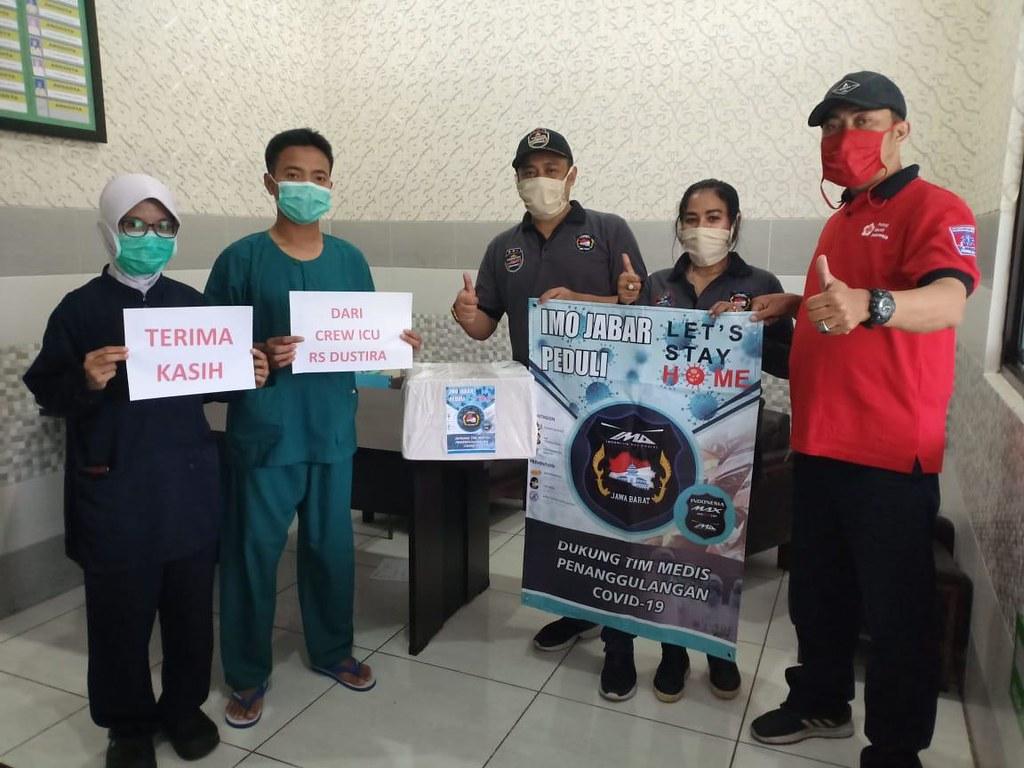 Aksi sosial Indonesia Max Owners (IMO) membantu pencegahan corona (6)