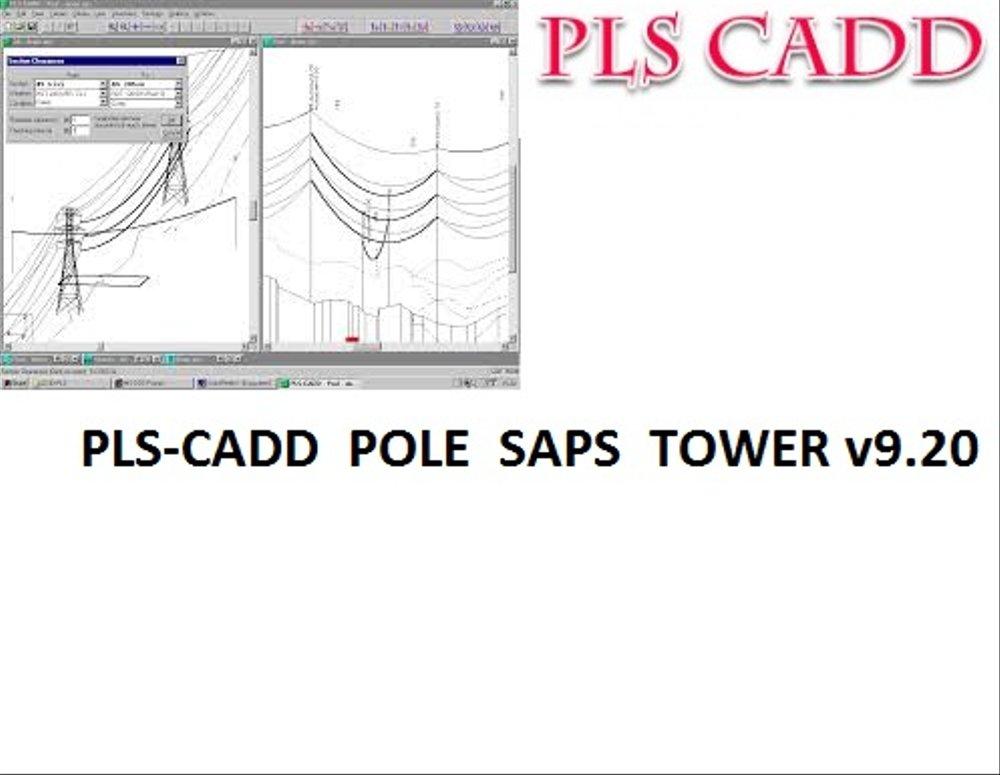 PLS CADD POLE SAPS TOWER v920 full license