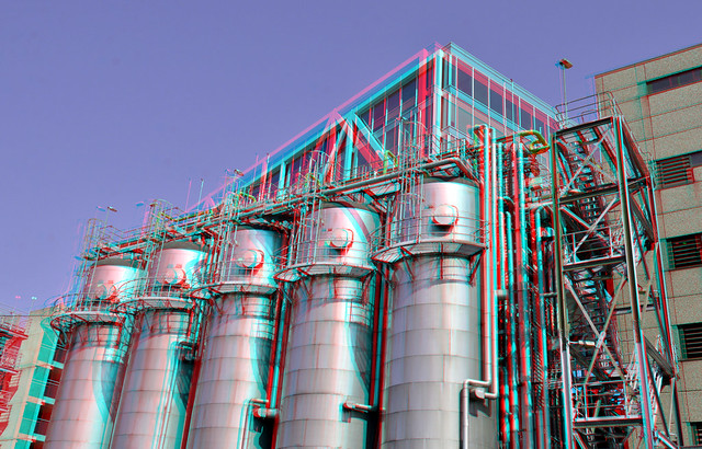 Tanks Unilever Rotterdam 3D