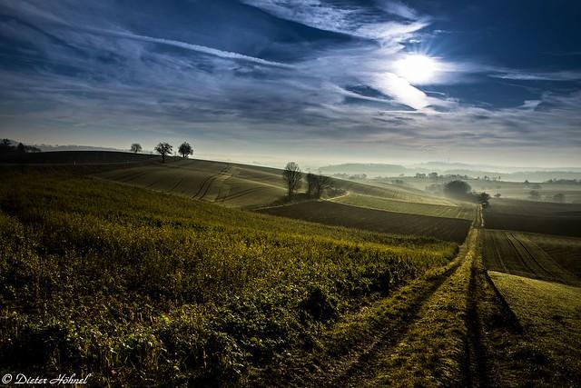 Landschaftsfoto aus dem Kraichgau