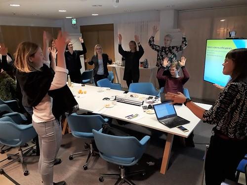 Arvojana. BMOLin Ruoka eettisenä kysymyksenä -opettajankoulutus, Helsinki, syksy 2019. Kuva: Pinja Sipari.