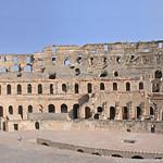 L'amphithéâtre romain d'El Jem (Tunisie)