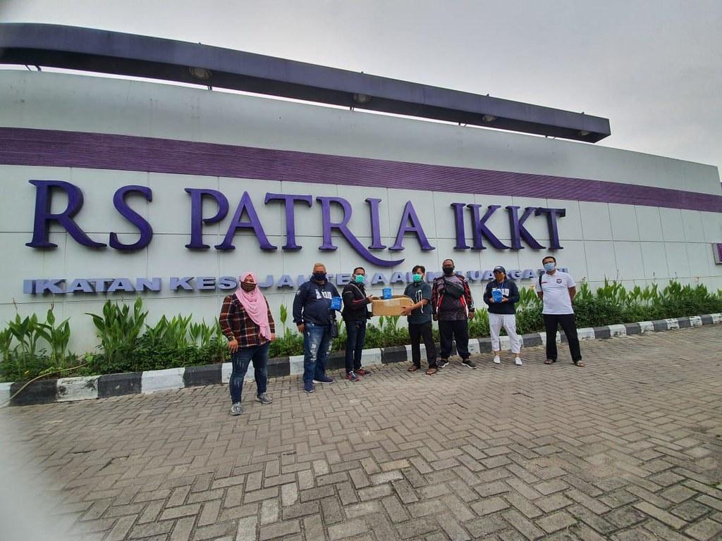 Aksi sosial Indonesia Max Owners (IMO) membantu pencegahan corona (8)