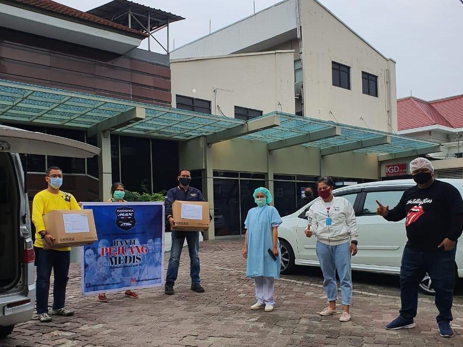 Aksi sosial Indonesia Max Owners (IMO) membantu pencegahan corona (5)