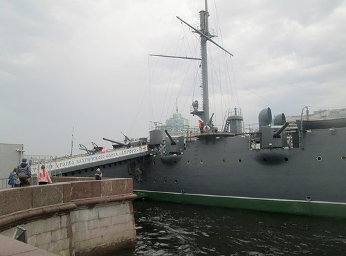Gangplank and Cruiser Aurora