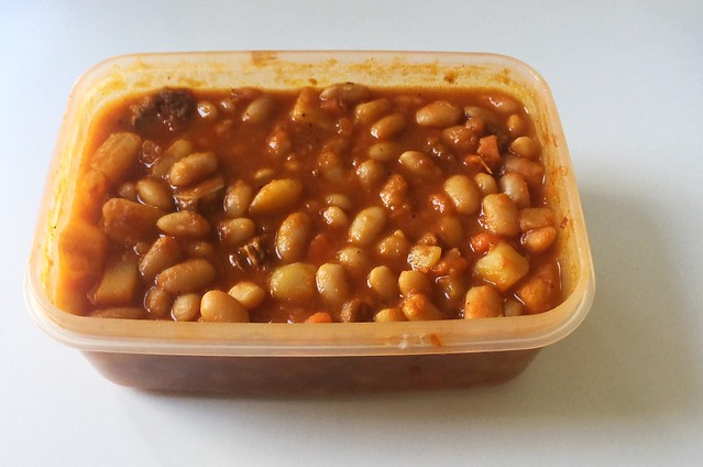 Algerian bean stew - Leftovers II / Algerischer Bohneneintopf - Resteverbrauch II