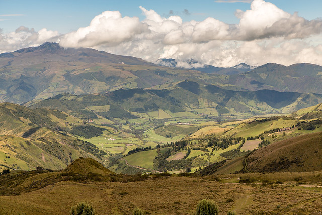 Armchair Traveling - On Top of the World at Pichincha, Ecuador