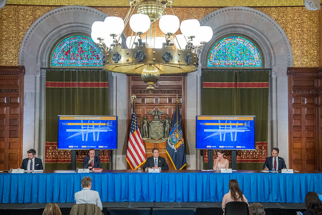 Governor Cuomo Holds Briefing on COVID-19 Response - 4/16
