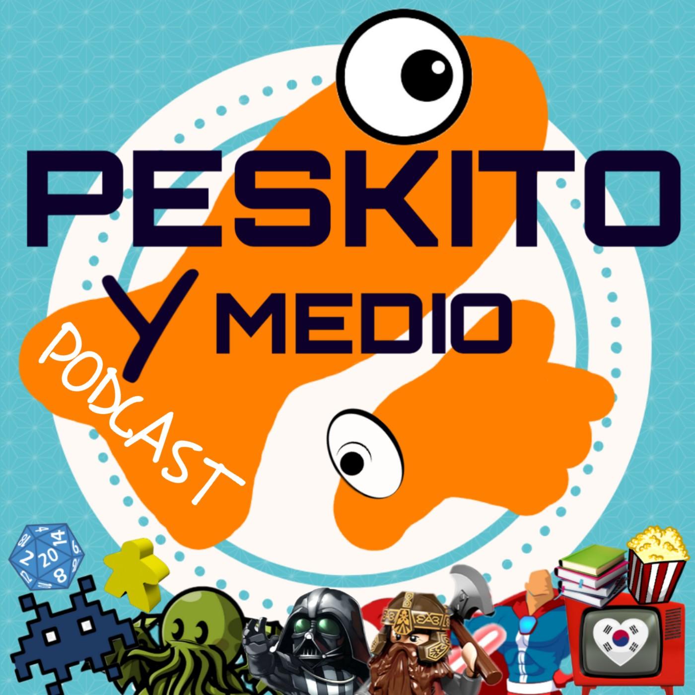 Logo del programa Peskito y Medio Podcast