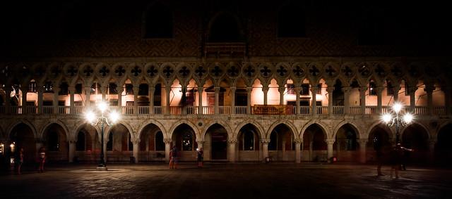 Arcades du palais des Doges