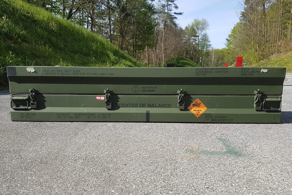 Hrvatska vojska opremljena raketama Hellfire
