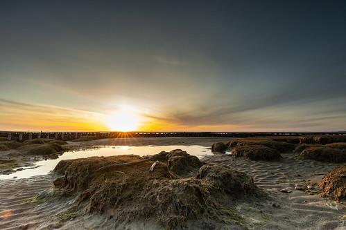 sonnenuntergang dockkoog husum strand sonne schleswigholstein deutschland sunset beach germany waddensea nordsee northsea wattenmeer nationalpark