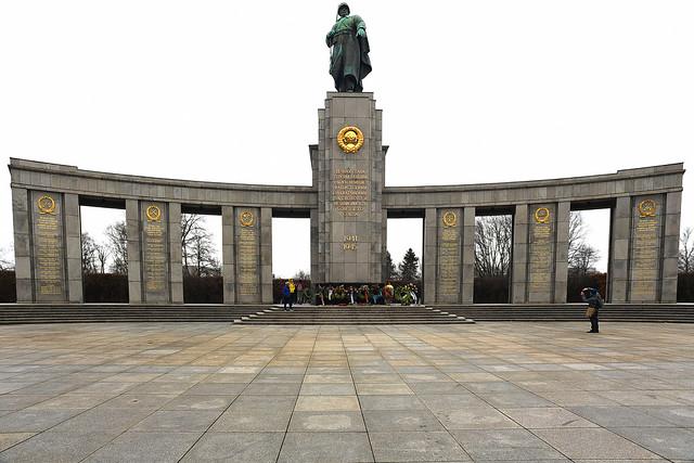 Soviet War Memorial Teirgarten