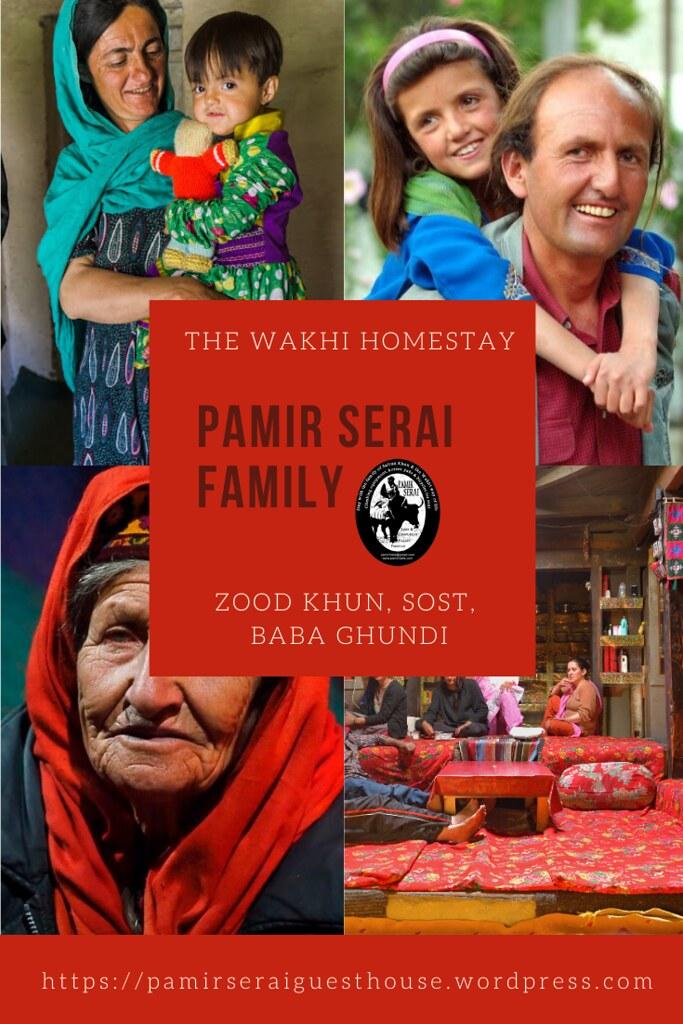Pamir Serai guesthouse family