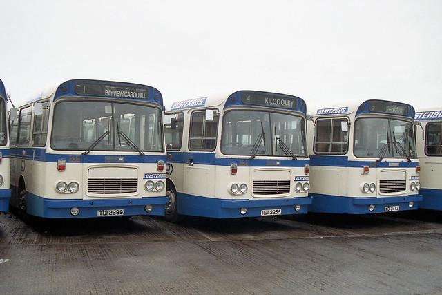 Ulsterbus 2298 2256 & 2443 - TOI 2298 ROI 2256 & WOI 2443
