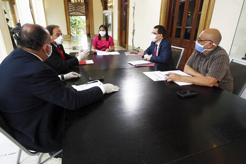 Gobierno Bolivariano agradece cooperación de la Cruz Roja Internacional ante el desafío que representa el Covid-19
