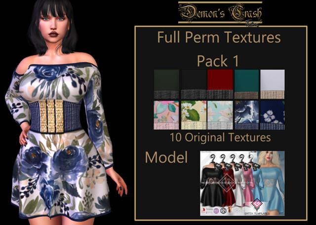 [DC] Textures -[GYTTA]  FULL PERM 2020-04apr # 1