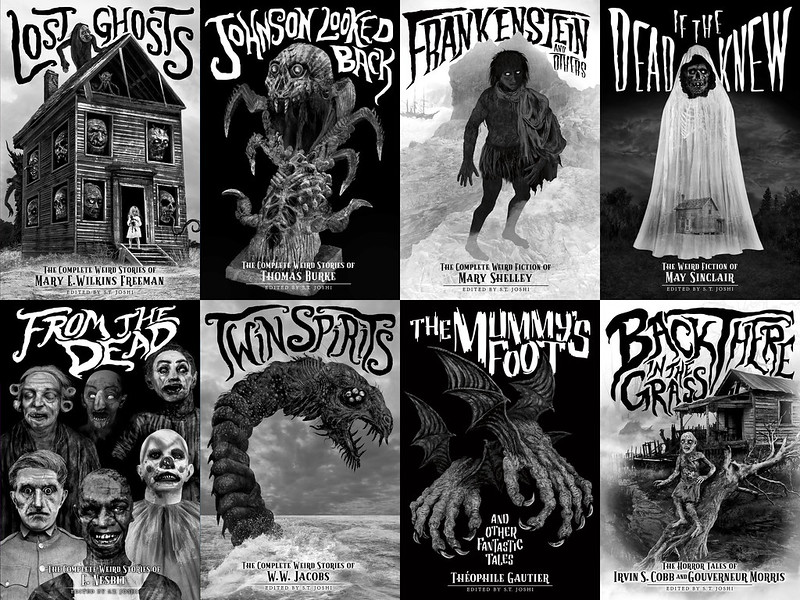 Aeron Alfrey - Classics of Gothic Horror, Covers