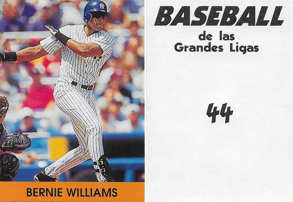 2000 Venezuelan Bernie Williams