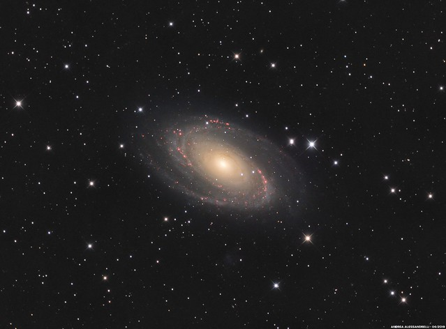 Messier 81 - NGC 3031 - Bode's Galaxy