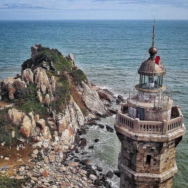 Phượt Hot - Phượt Bình Thuận đến thăm ngọn hải đăng cổ ở Mũi Kê Gà (5)