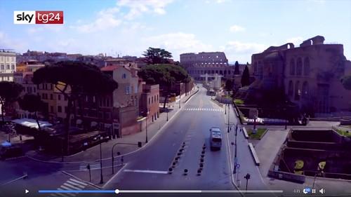 ROMA ARCHITETTURA. Con 22 milioni di americani ormai senza lavoro (un terzo della popolazione italiana). I turisti, gli studenti e gli studiosi americani potrebbero non tornare a Roma poco dopo la fine della crisi pandemica. Notizie / USA (10/04/2020).