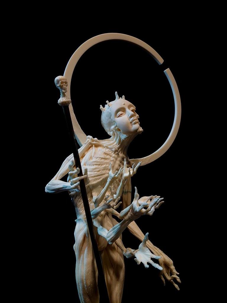 「我不入地獄,誰入地獄」玖零零原型工作室新作「輪迴」發表!(900 Sculptor Studio Reincarnation)