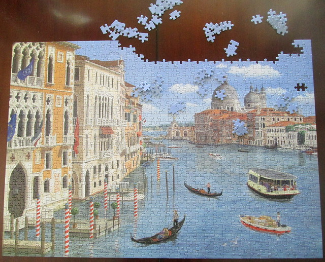 Unfinished Venice Jigsaw