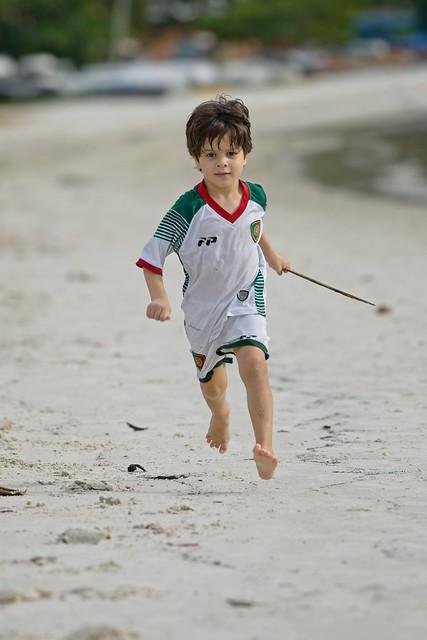 Diego correndo