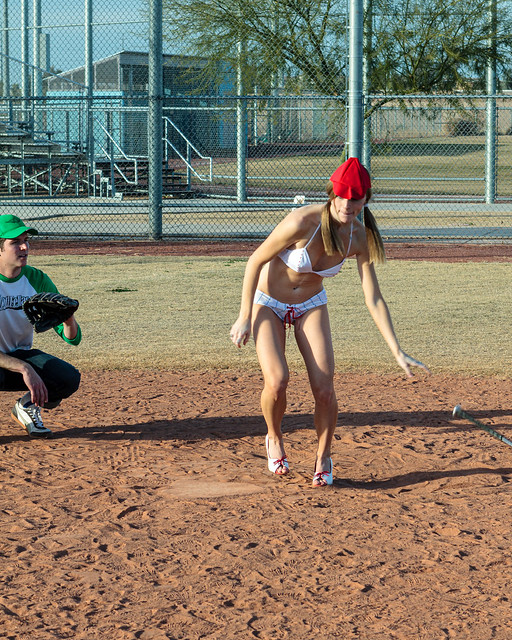 Fly Ball into Deep Left Field