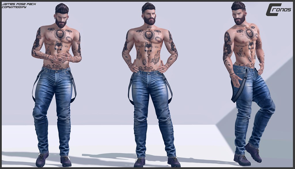 NEW RELEASE - James Pose Pack