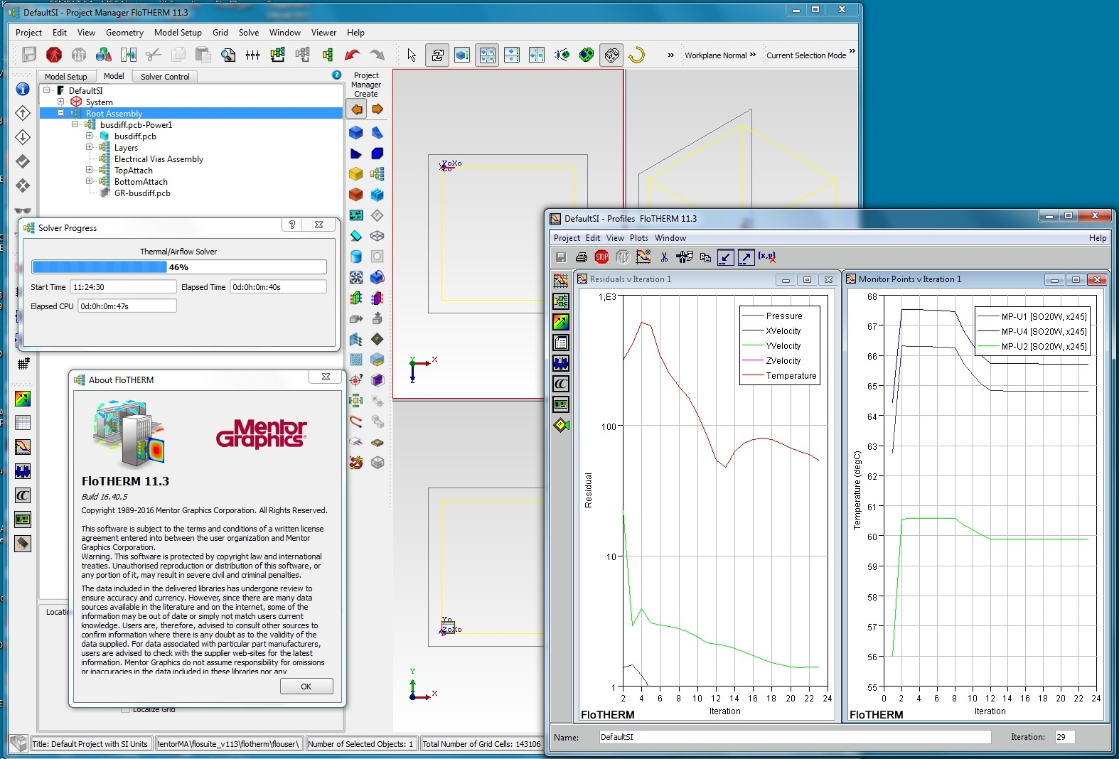 Working with Mentor Graphics Flo-THERM v11.3 full license