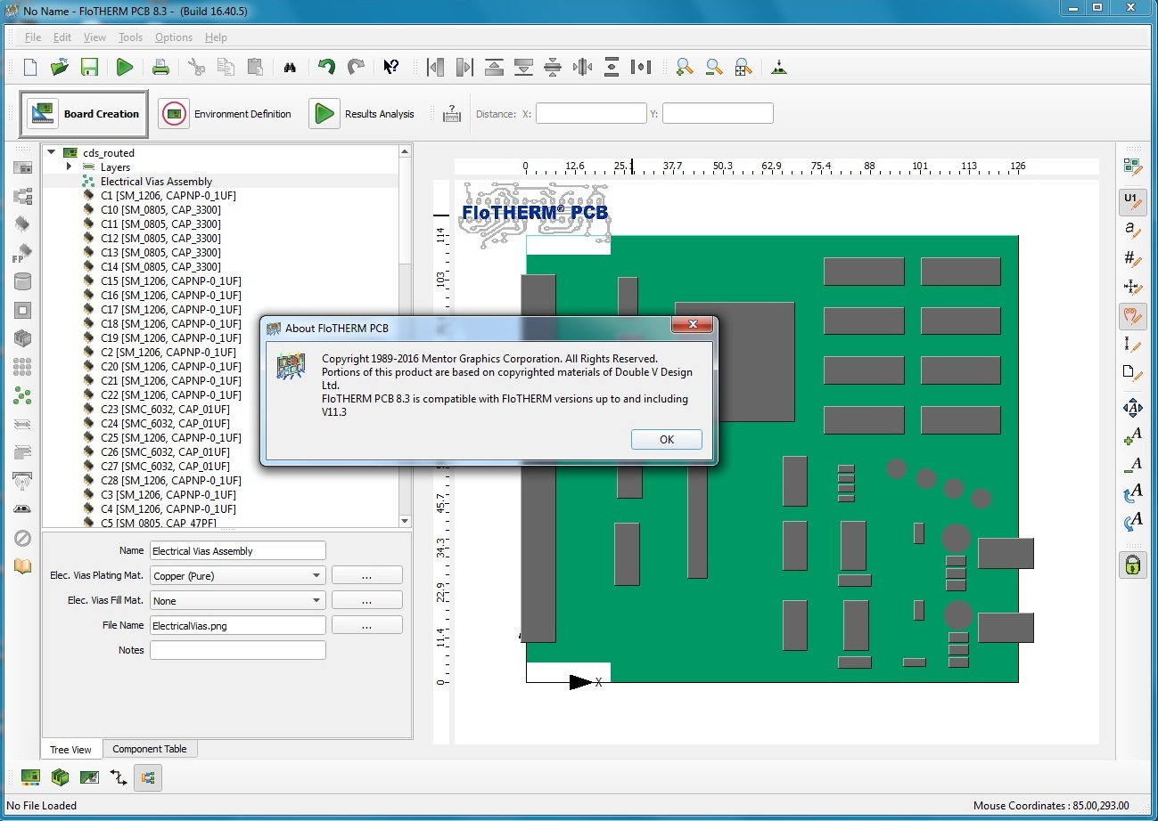 Working with Mentor Graphics Flo-THERM-PCB 8.3 full