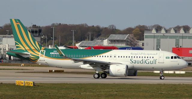 Saudi Gulf Airlines , D-AUAM, Reg. VP-CGB, MSN 9357, 320-251N, 16.04.2020,  XFW-EDHI, Hamburg Finkenwerder