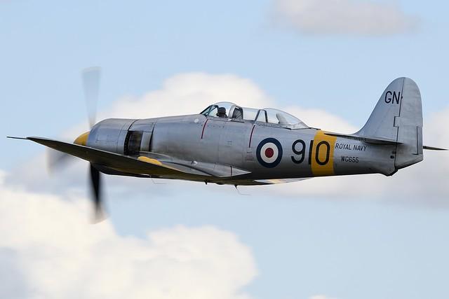 Hawker Siddley Sea Fury T.20 WG655 Royal Navy G-INVN