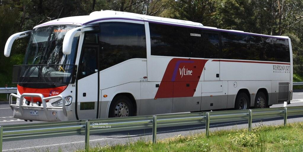 V-Line Bus 66 South Gippsland Highway Koonwarra