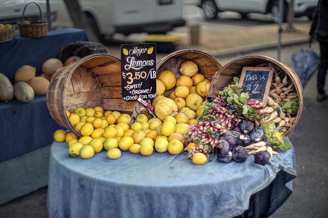 Essential produce at the farmers' market
