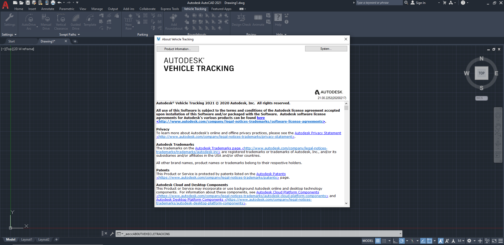 Working with Autodesk Vehicle Tracking 2021 full license
