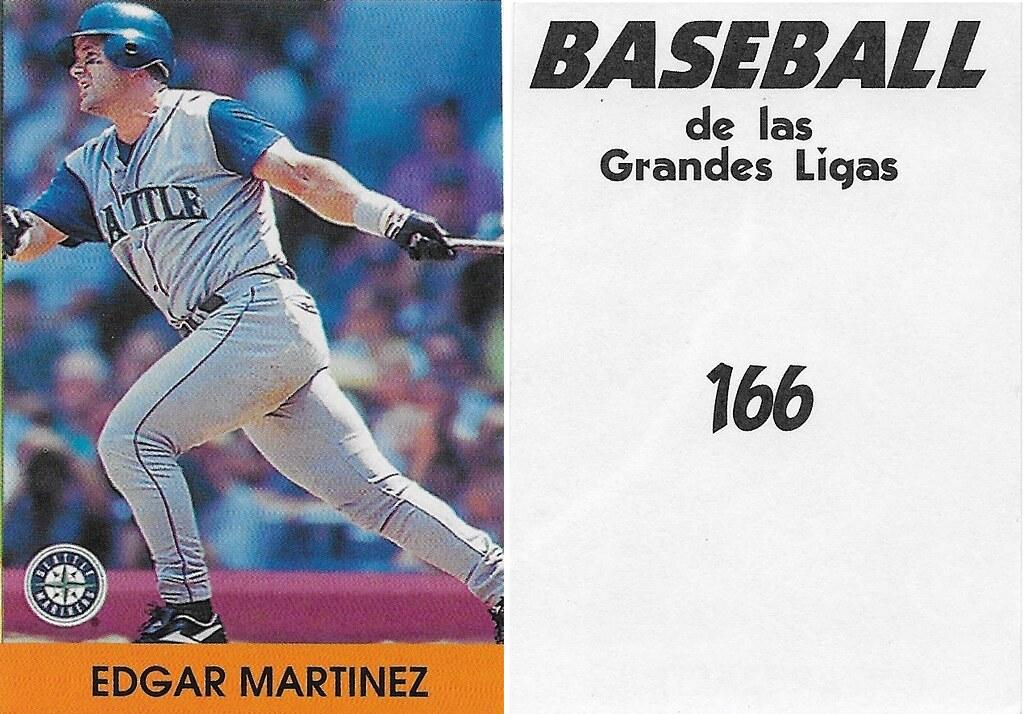 2000 Venezuelan Edgar Martinez