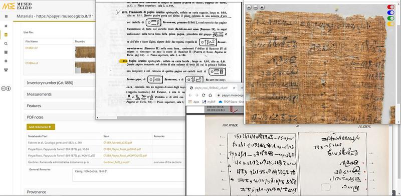 Turin Papyrus Online Platform (TPOP), ITALY