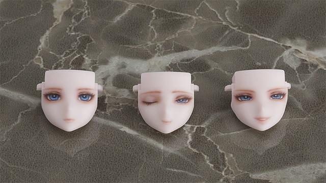 GSC × 淺井真紀× huke 『chitocerium チトセリウム』擴充零件「ornatio」系列展開,第一彈推出三款人偶風表情!
