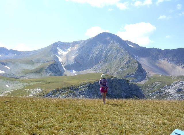 Lets go! Mount Blyam. View of the mountain Oshten.  гора Блям. Вид на гору Оштен.