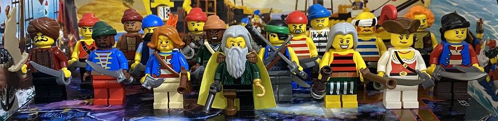 The Greybeard Pirate Crew