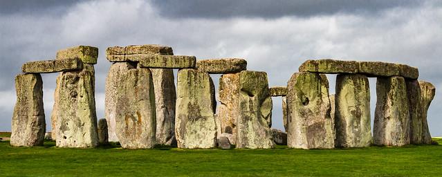 World Heritage Stonehenge stone circle