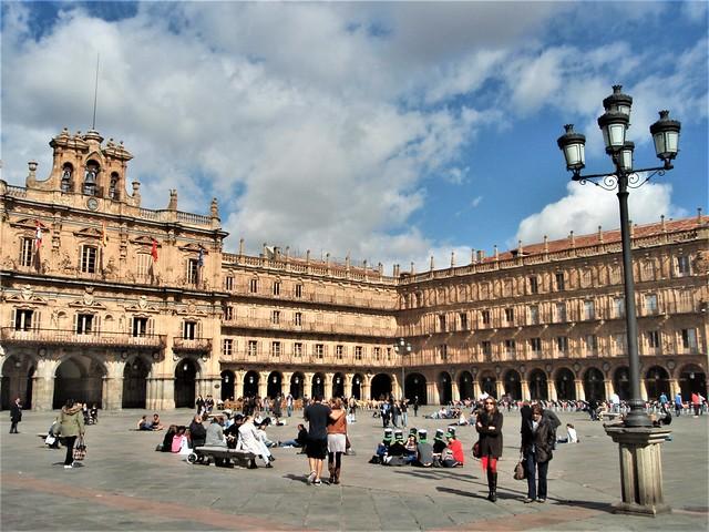 Salamanca - Plaza Mayor.