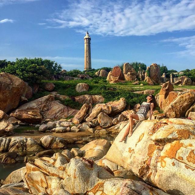 Phượt Hot - Phượt Bình Thuận đến thăm ngọn hải đăng cổ ở Mũi Kê Gà (19)