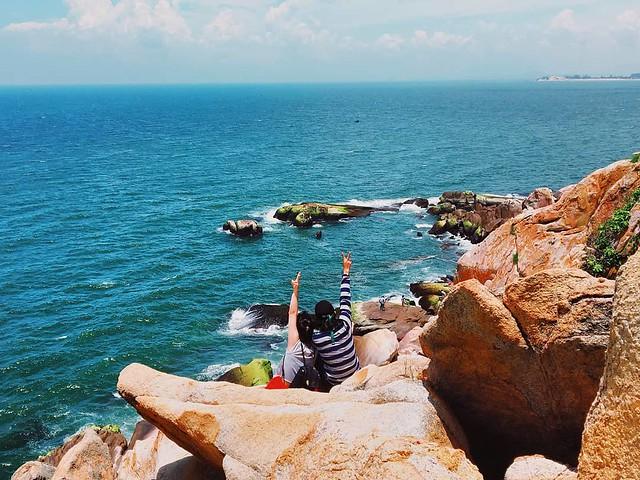 Phượt Hot - Phượt Bình Thuận đến thăm ngọn hải đăng cổ ở Mũi Kê Gà (9)