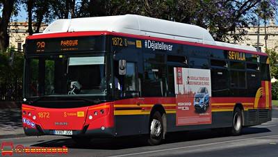 Autobuses de Sevilla (Tussam) 49783857343_c0c021cb00_w